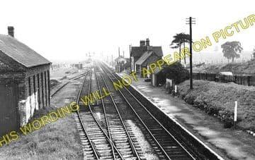 Bettisfield Railway Station Photo. Fenn's Bank -Welshampton. Ellesmere Line. (2)