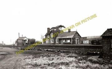 Bettisfield Railway Station Photo. Fenn's Bank -Welshampton. Ellesmere Line. (3)