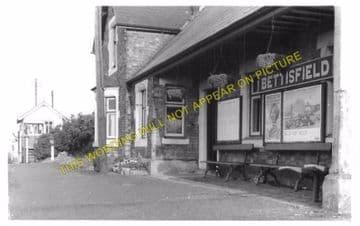 Bettisfield Railway Station Photo. Fenn's Bank -Welshampton. Ellesmere Line. (4)