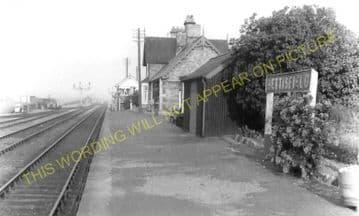 Bettisfield Railway Station Photo. Fenn's Bank -Welshampton. Ellesmere Line. (5)