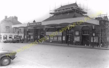 Bexhill Central Railway Station Photo. St. Leonards - Normans Bay. (4)