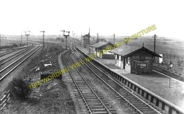 Bidston Railway Station Photo. New Brighton - Birkenhead. Wirral Railway. (1)..