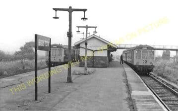 Bidston Railway Station Photo. New Brighton - Birkenhead. Wirral Railway. (5)