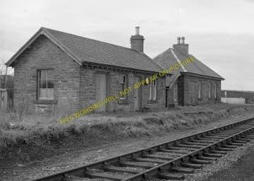 Bilbster Railway Station Photo. Wick - Watten. Georgmas Junction Line. (1)