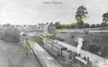 Billericay Railway Station Photo. Shenfield - Wickford. Southend Line. (3).