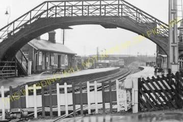 Billingham Railway Station Photo. Norton-on-Tees - Greatham. Middlesbrough. (3).