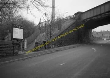 Birch Vale Railway Station Photo. New Mills - Hayfield. GCR + Midland. (4)