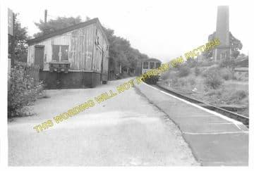 Birch Vale Railway Station Photo. New Mills - Hayfield. GCR + Midland. (5)