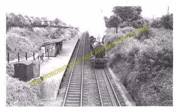 Birches & Bilbrook Railway Station Photo. Codsall - Dunstall Park. GWR. (3)