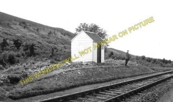Birchfield Railway Station Photo. Rothes - Coleburn. Craigellachie to Elgin. (1)
