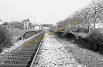 Birchgrove Railway Station Photo. Heath -Rhiwbina. Cardiff to Taff's Well. (1)