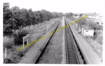 Birchgrove Railway Station Photo. Heath -Rhiwbina. Cardiff to Taff's Well. (5)