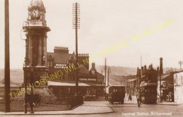 Birkenhead Central Railway Station Photo. Mersey Railway. (11)