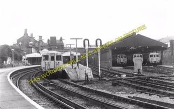 Birkenhead Central Railway Station Photo. Mersey Railway. (5)