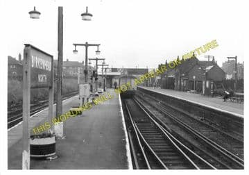 Birkenhead North Railway Station Photo. Wirral Railway. (3)