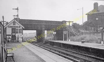 Birkenhead North Railway Station Photo. Wirral Railway. (4)