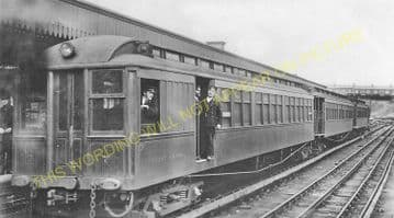 Birkenhead Park Railway Station Photo. Birkenhead Joint Railway. (4)