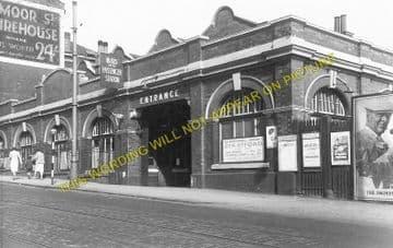 Birmingham Moor Street Railway Station Photo. Great Western Railway. (1)