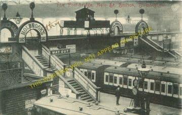 Birmingham New Street Railway Station Photo. London & North Western Railway (17)