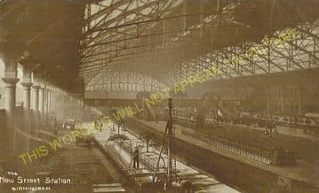 Birmingham New Street Railway Station Photo. London & North Western Railway (22)