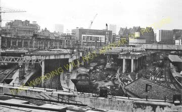 Birmingham New Street Railway Station Photo. London & North Western Railway (26)