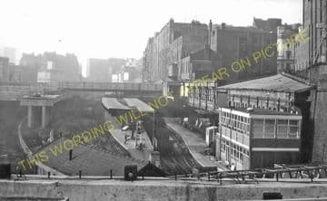 Birmingham New Street Railway Station Photo. London & North Western Railway (28)