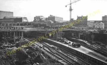 Birmingham New Street Railway Station Photo. London & North Western Railway (32)