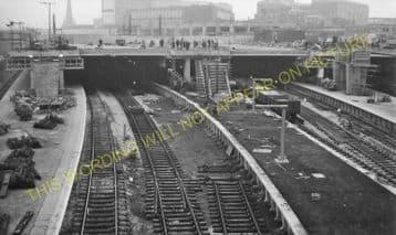 Birmingham New Street Railway Station Photo. London & North Western Railway (37)