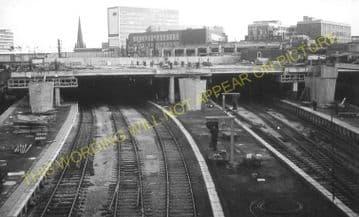 Birmingham New Street Railway Station Photo. London & North Western Railway (38)