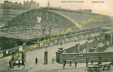 Birmingham New Street Railway Station Photo. London & North Western Railway (40)