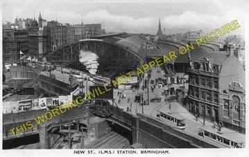 Birmingham New Street Railway Station Photo. London & North Western Railway (7)