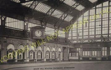 Birmingham Snow Hill Railway Station Photo. Great Western Railway. (108)