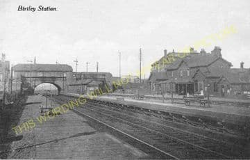 Birtley Railway Station Photo. Lamsley to Chester-le-Street and Pelton Lines (2)
