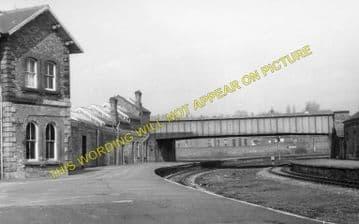 Bishop Auckland Railway Station Photo. Shildon - Etherley. North Eastern Rly (4)