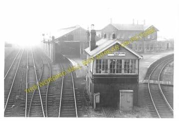 Bishop Auckland Railway Station Photo. Shildon - Etherley. North Eastern Rly (6)