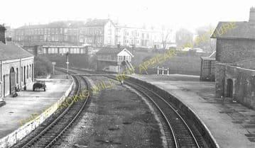 Bishop Auckland Railway Station Photo. Shildon - Etherley. North Eastern Rly (7)
