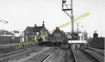Bishopbriggs Railway Station Photo. Glasgow - Lenzie. North British Railway. (1)..