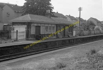 Blackford Hill Railway Station Photo. Newington - Morningside Road. Edinburgh (4)