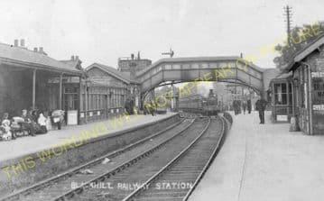 Blackhill Railway Station Photo. Shotley Bridge to Knitsley and Rowley Lines (5)