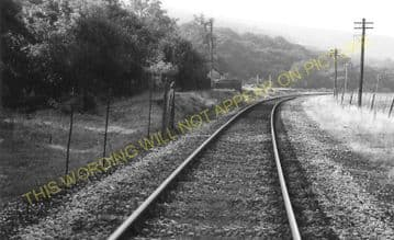 Blackmill Railway Station Photo. Brynmenyn to Ogmore Vale and Hendreforgan. (5).