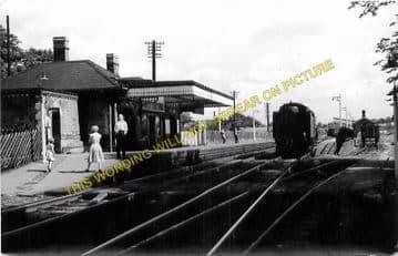 Blackwell Railway Station Photo. Barnt Green - Bromsgrove. Worcester Line. (1)..