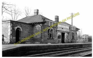 Blackwell Railway Station Photo. Barnt Green - Bromsgrove. Worcester Line. (3)