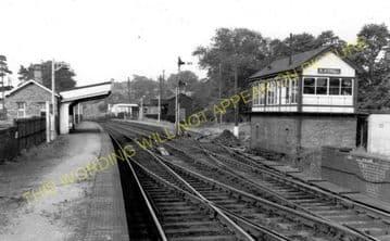 Blackwell Railway Station Photo. Barnt Green - Bromsgrove. Worcester Line. (6)