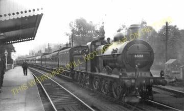 Blackwell Railway Station Photo. Barnt Green - Bromsgrove. Worcester Line. (7)