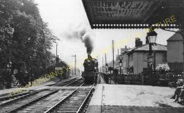 Blackwell Railway Station Photo. Barnt Green - Bromsgrove. Worcester Line. (8)