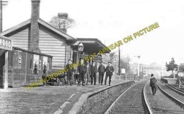Blackwood Railway Station Photo. Argoed - Pontllanfraith. Tredegar to Risca. (4)
