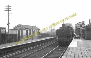 Blackwood Railway Station Photo. Argoed - Pontllanfraith. Tredegar to Risca. (5)