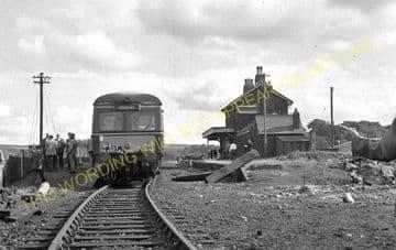Blaenavon High Level Railway Station Photo. Waenavon to Pontypool. LNWR. (3)..