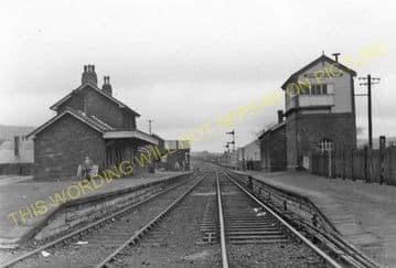 Blaenavon High Level Railway Station Photo. Waenavon to Pontypool. LNWR. (4)