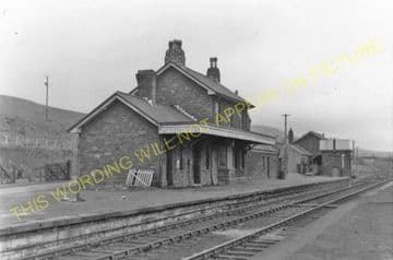 Blaenavon High Level Railway Station Photo. Waenavon to Pontypool. LNWR. (5)